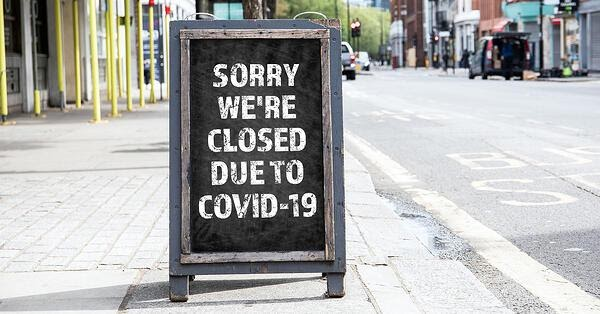 Sorry, We're Closed Due To Covid-19